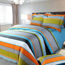 Orange And White Comforter Boy Comforter Sets Queen Orange White And Blue Multi Color Rugby