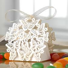 wedding candy favors 50 pack laser cut butterfly wedding favor box birthday