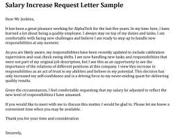 salary increase notification letter sample for employees college