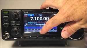 icom ic 7300 hf 50mhz transceiver complete review demo youtube