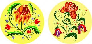 folk floral ornaments stock vector sonechko 2278975