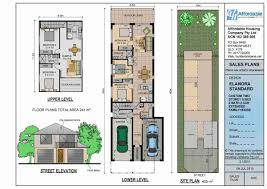 small two story house plans narrow lot nz images on extraordinary