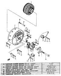 1968 ycs1c yamaha motorcycle generator mitsubishi diagram yamaha