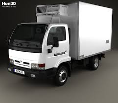 box car nissan nissan cabstar e box truck 1998 3d model hum3d