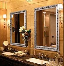amazon com decorative large wall mounted mirror with baroque