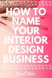 design company name ideas