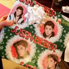 justin bieber wrapping paper my wrapping paper for 2013 justin bieber wrapping