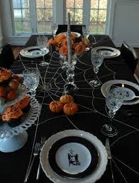 Halloween Home Decor Pinterest Halloween Table Formal Classic Halloween Home Decorations