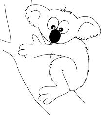 koala coloring coloring books gal 6758 unknown
