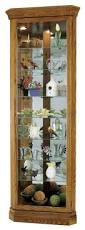 corner cabinet with glass doors curio cabinet marvelous corner curiot oak picture ideas