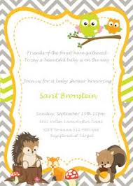 woodland baby shower invitations woodland baby shower theme ideas my practical baby shower guide