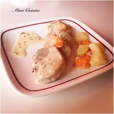 mimi cuisine filet mignon à la crème de moutarde à l ancienne recette cookeo
