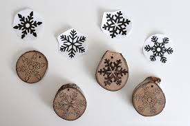 burn on wood burned wood slice ornaments domestically creative