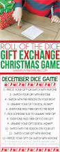 dice gift exchange games you u0027ll love kids christmas crafts
