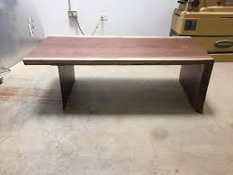 Waterfall Coffee Table The Waterfall Coffee Table U2014 Rest U0026 Repine Woodworks