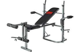Power Bench Propower Multi Use Workout Bench And Fly With Hsb Heartrate Watch
