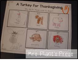 thanksgiving randomness primary press