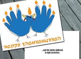 happy thankannukah turkey menorah cards set by sweetlex