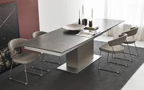 extra long extending table sincro calligaris cs 4087 dinner