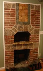 brick oven fireplace home decorating interior design bath