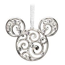 your wdw store disney disc ornament bohemian filigree mickey