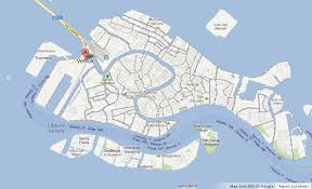 venice map map of venice centre easy guides