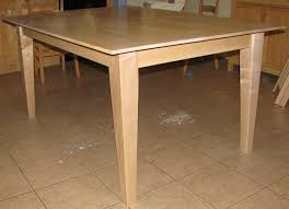 Maple Kitchen Table FineWoodworking - Maple kitchen table