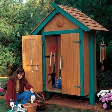 Plans To Build A Wooden Shed by Woodworking Project Paper Plan To Build Mini Garden Shed