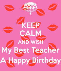 lovely birthday wishes for teacher e card nicewishes