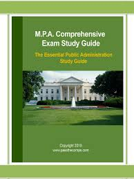 mpa comps study guide docshare tips