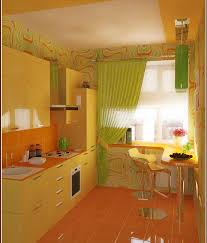 Yellow Kitchen Ideas Green And Yellow Kitchen Ideas With Chair And Cabinets 1123