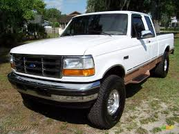 Ford F150 Truck Extended Cab - 1995 ford f150 eddie bauer extended cab in oxford white photo 12