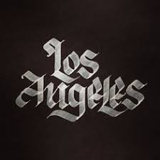 los angeles ca lettering typography los angeles