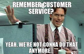 Customer Service Meme - communicating customer support vs customer success