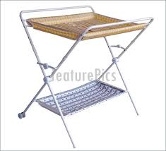 Foldable Change Table House Living Folding Changing Table Stock Picture