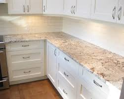 white kitchen cabinets with white backsplash best 25 light granite countertops ideas on kitchen