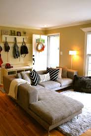 best 25 small l shaped couch ideas on pinterest small l shaped a quick tour of our living room