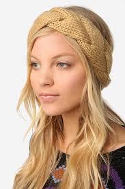 braided headbands desktop winter knit pattern braided of laptop hd ear warmer cable