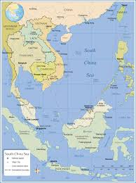 Map Of Se Asia by Political Map Of South China Sea Nations Online Project