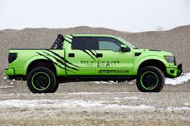 ford raptor lifted german tuner geiger cars launches 572 hp ford f 150 svt raptor
