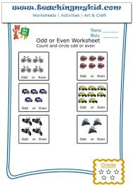 fun worksheets for kids count u0026 circle odd or even 8