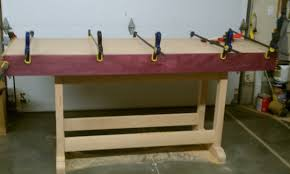 Woodworking Bench Top by Hardwood Workbench Top Choices Woodworking Talk Woodworkers Forum