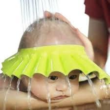 baby shower caps buy futaba adjustable baby shower shoo cap yellow online