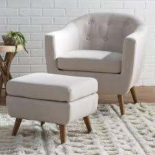 barrel chair with ottoman henley barrel chair and ottoman reviews joss main