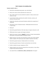 i learn at home assignment 4 macromolecule review worksheet part i