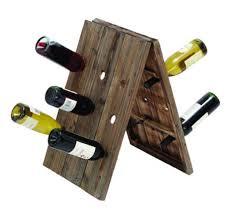 unique wine bottle rack ideas
