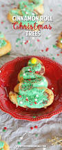 Christmas Trees Easy Cinnamon Roll Christmas Trees The Pinning Mama