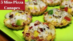 easy cheap canapes pizza canapes bites and easy appetizers mini pizza