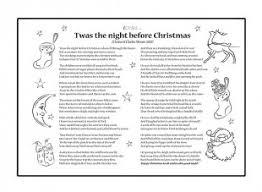 poem twas the before ichild