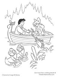 download coloring pages little mermaid coloring page little